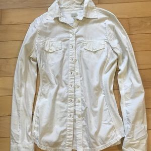 White button down xs